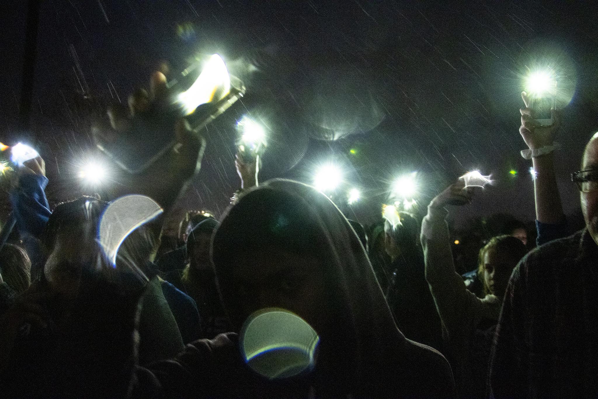 Photo: STEM School Highlands Ranch shooting vigil - outside