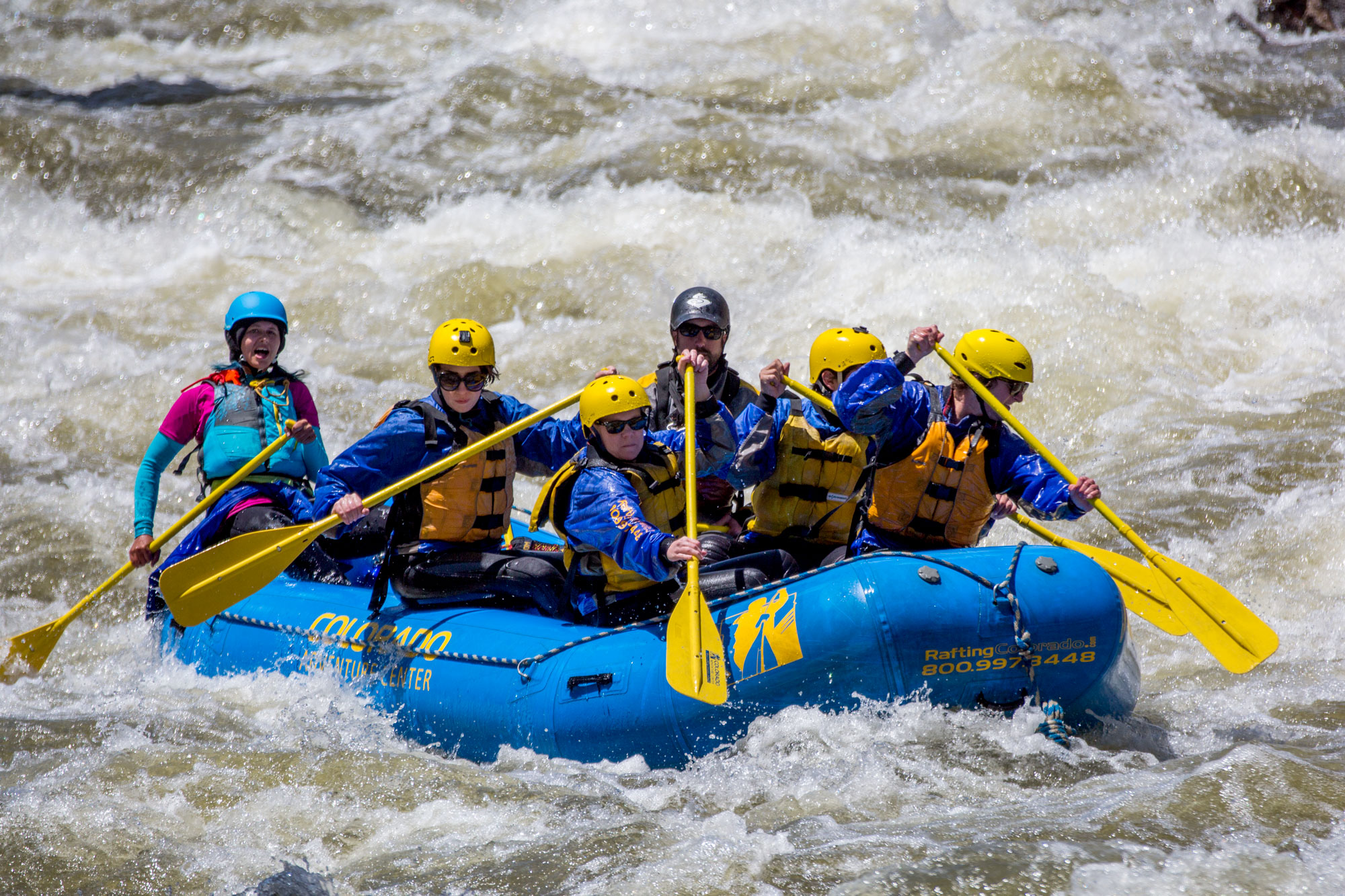 Photo: Whitewater Rafting Clear Creek Idaho Springs HV 5