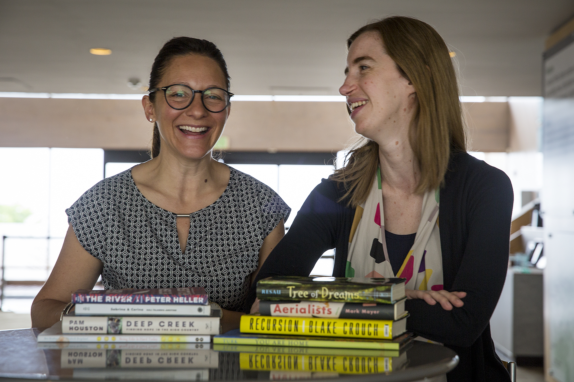 Nicole Magistro, left, is owner of The Bookworm of Edwards. Bethany Strout, right, is the buyer for the Tattered Cover bookstores.