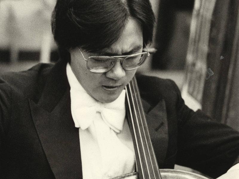 Photo: Yo-Yo Ma 1975