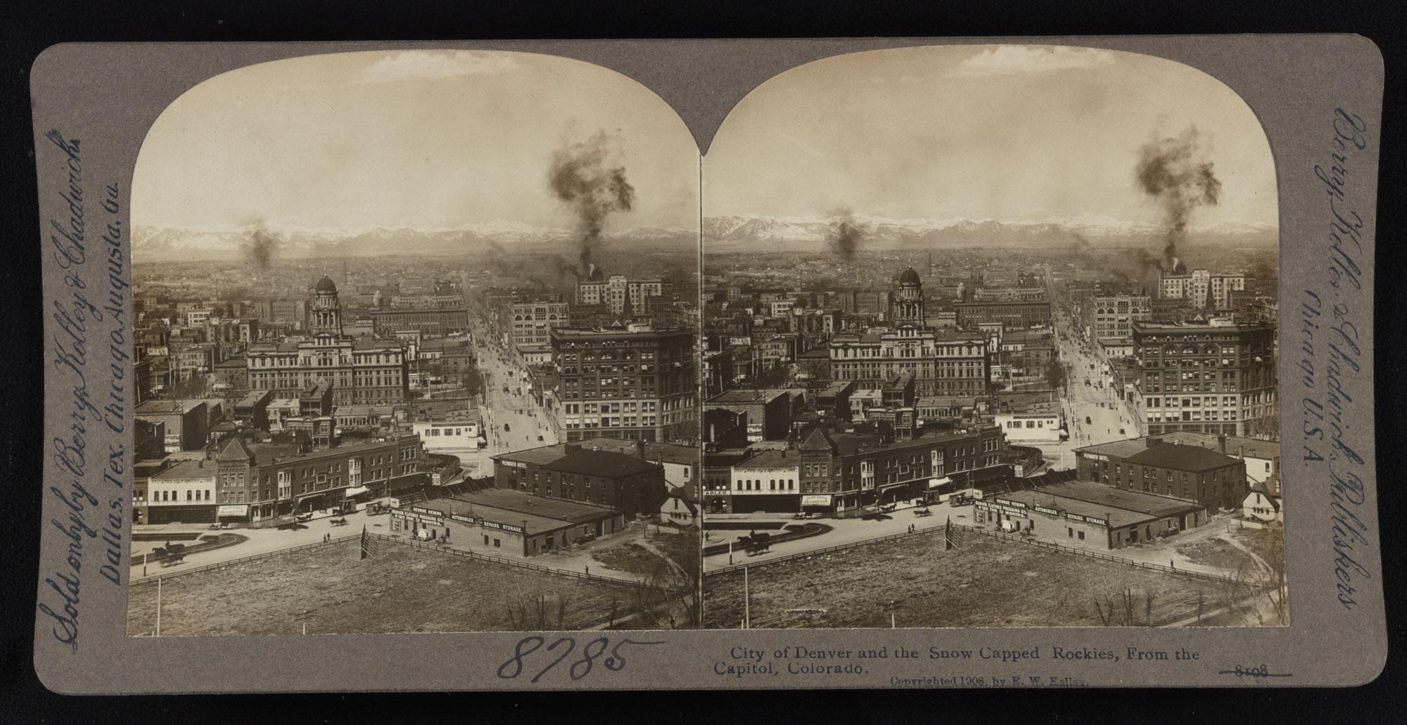 Photo: Denver 1908