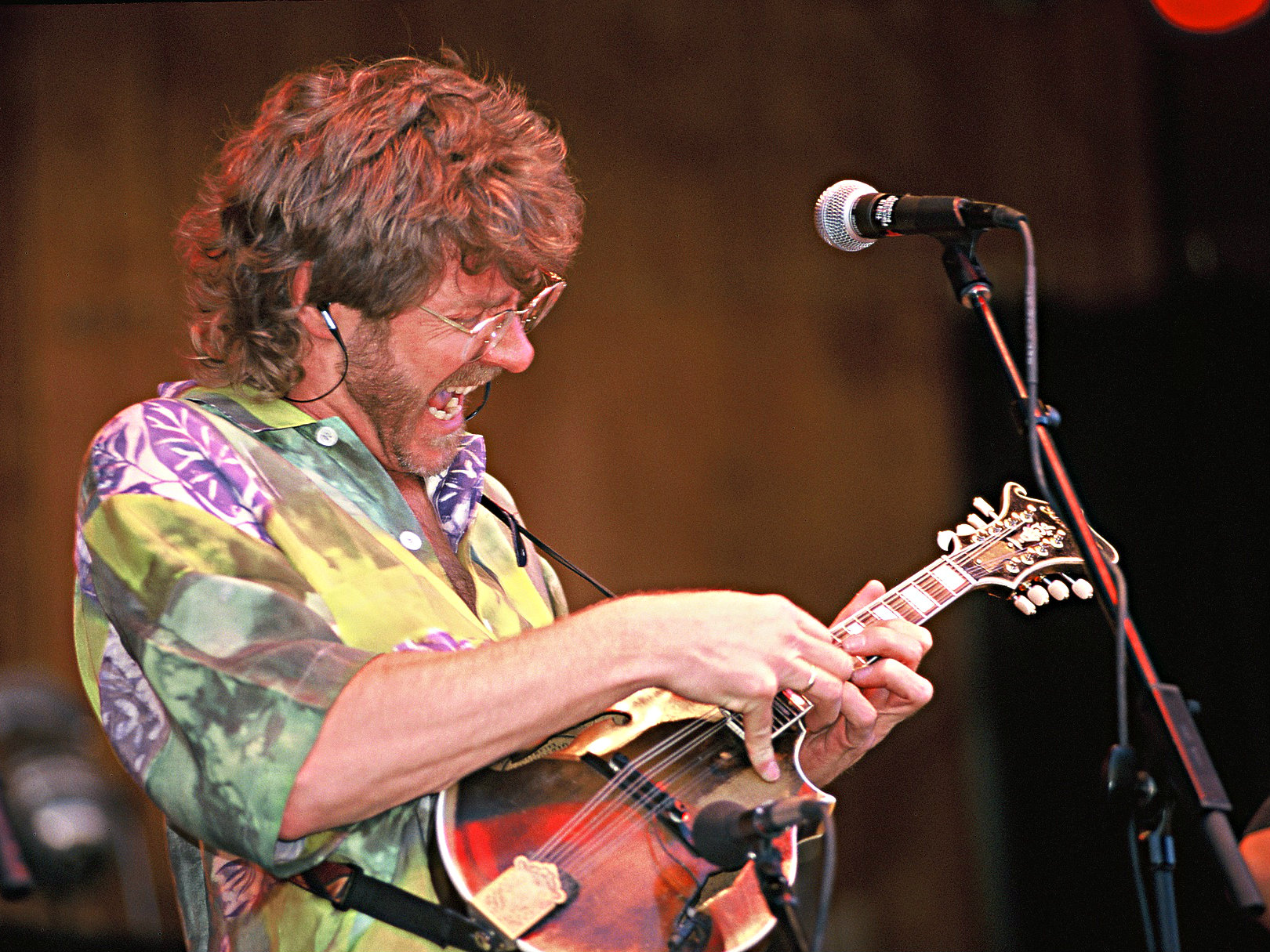 Sam Bush at Telluride Bluegrass Festival