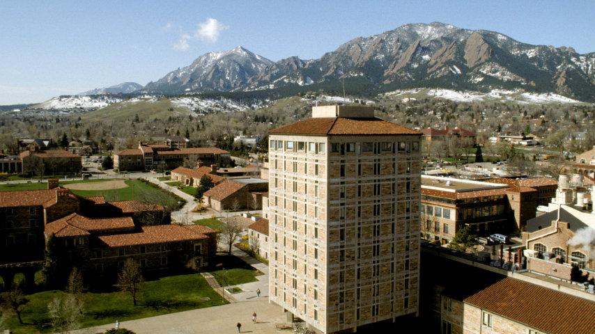 Photo: CU Boulder campus (iStock)