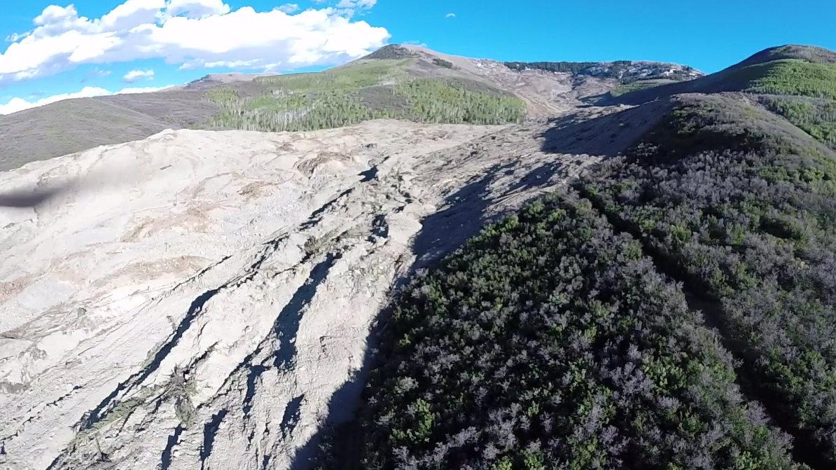 Photo: Mesa County landslide mud