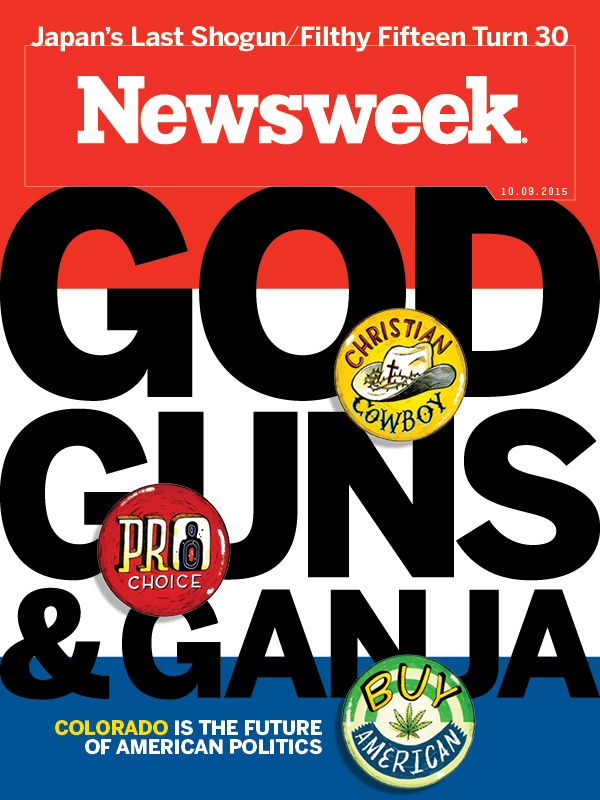 Picture: Newsweek Cover Colorado Oct. 2015 (C/O)