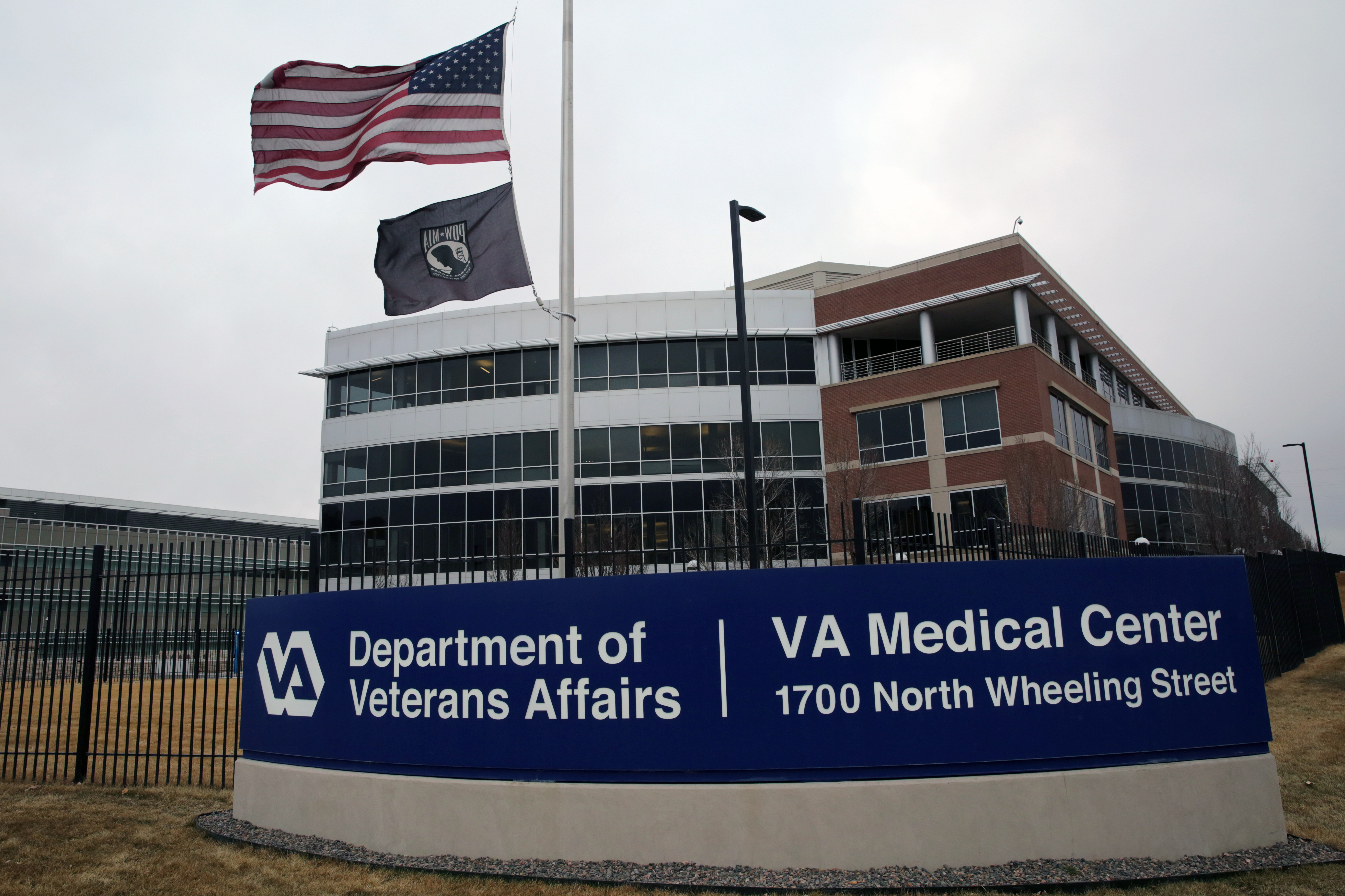 Photo: Aurora VA Hospital Medical Center 6 Exterior Sign February 2018