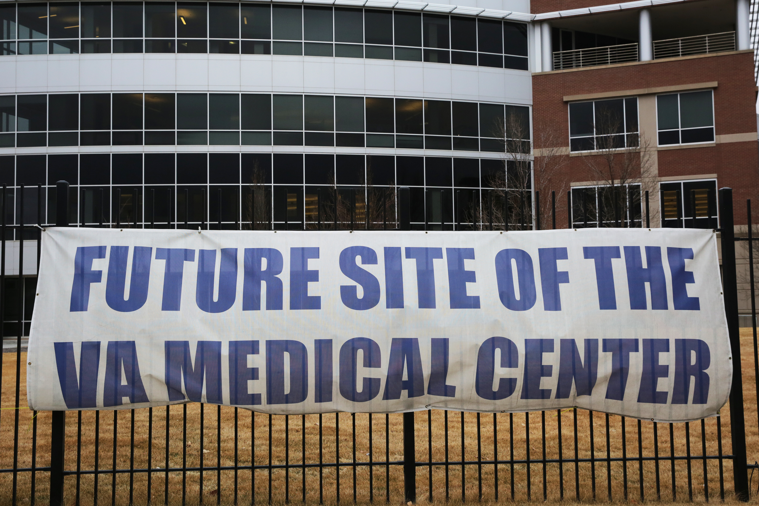 Photo: Aurora VA Hospital Medical Center 3 Future Site Sign February 2018