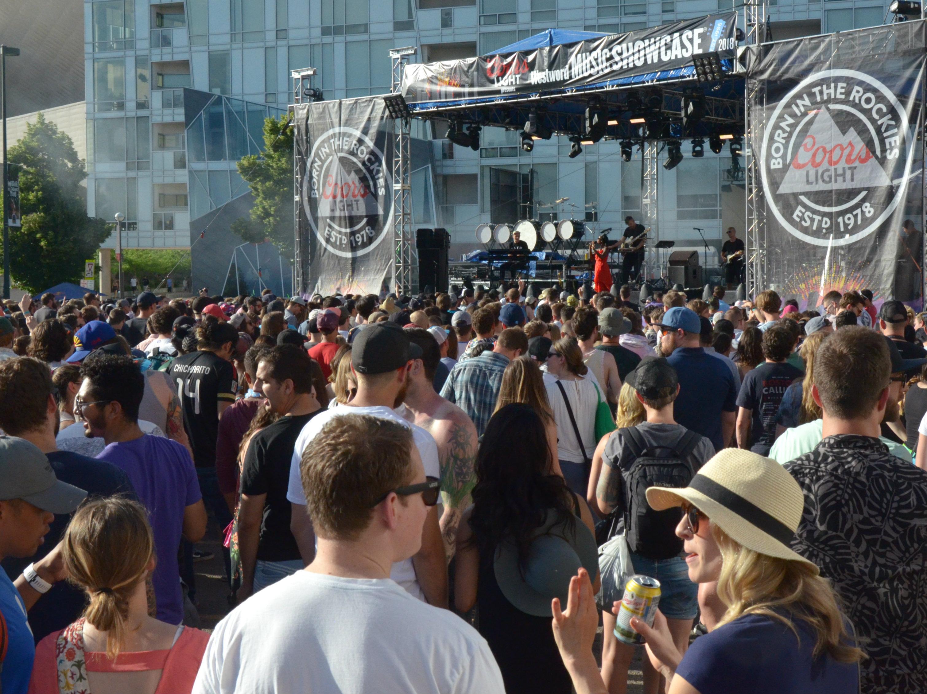 Photo: Westword Music Showcase 2018 crowd 1