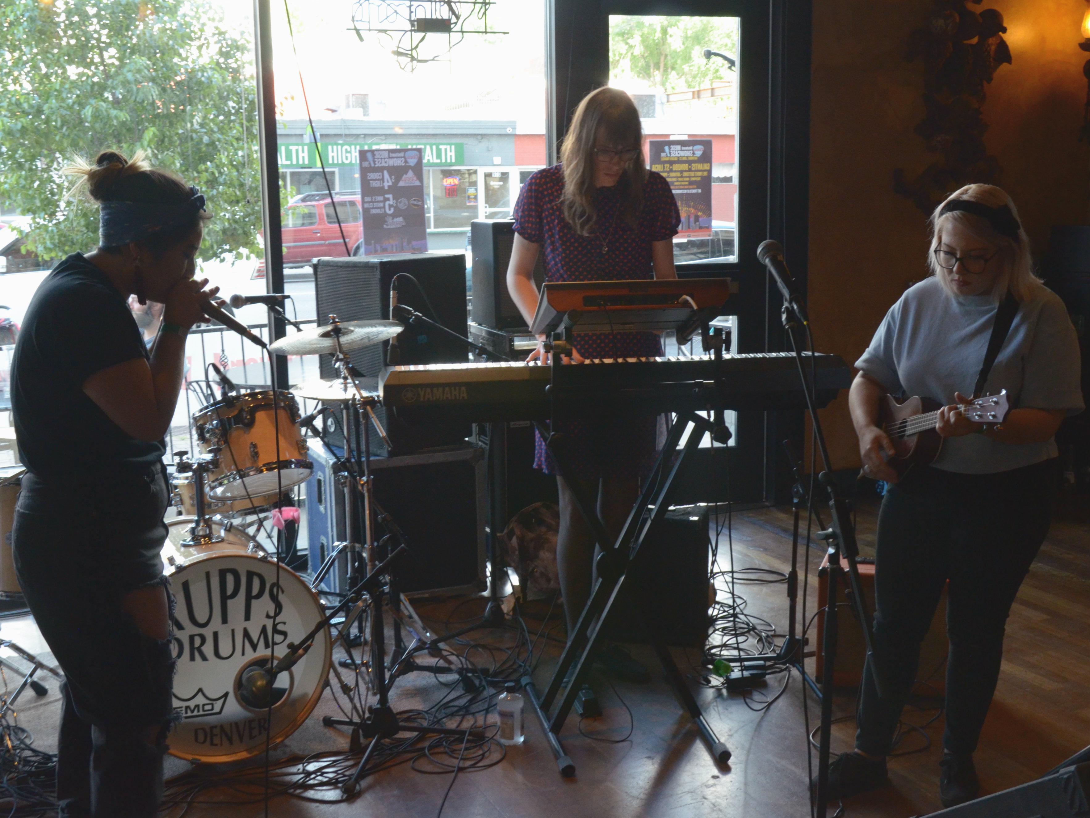 Photo: The Milk Blossoms Westword Music Showcase