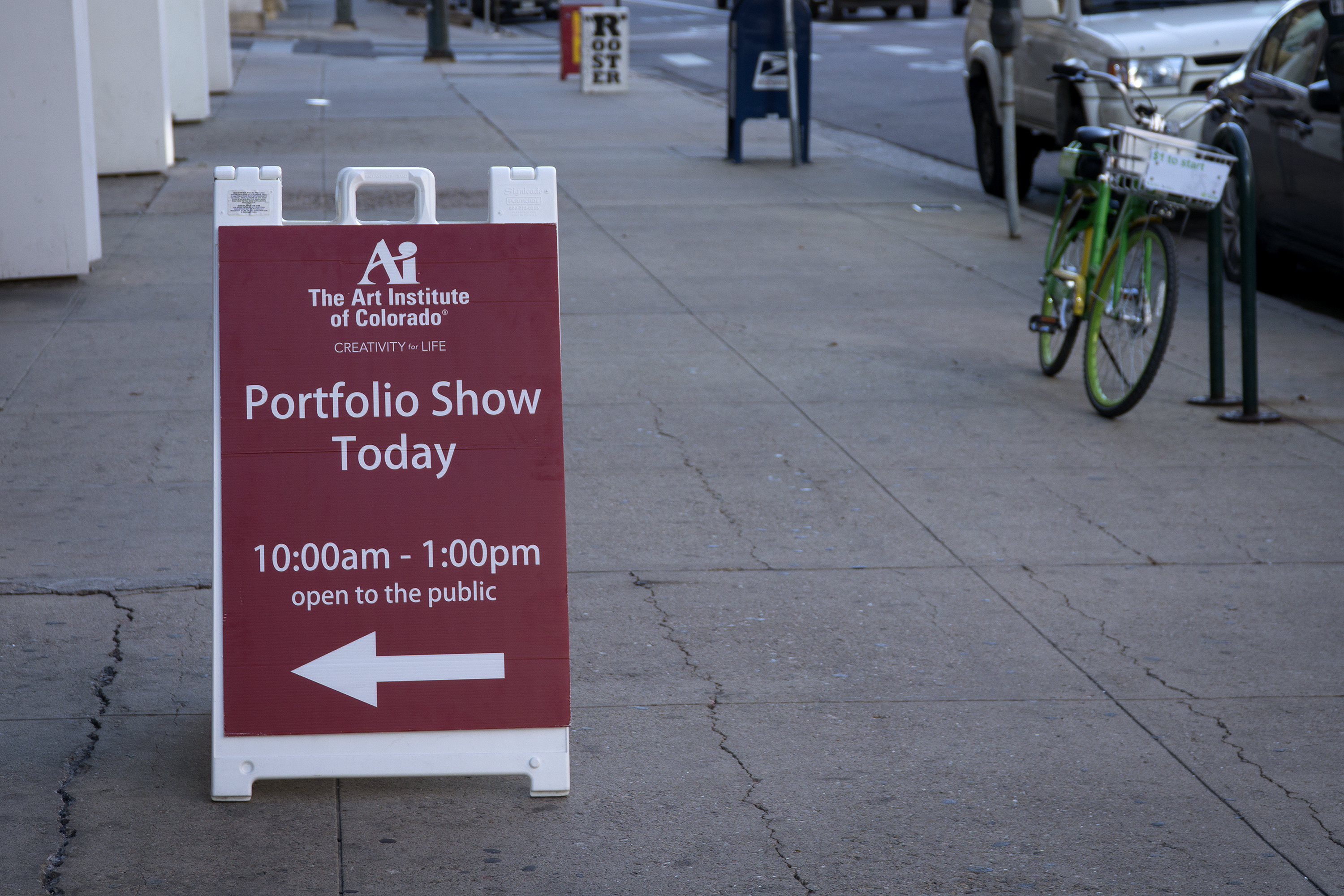 The Art Institute of Colorado hosted its final student portfolio show on Dec. 14, 2018 at its Denver campus.