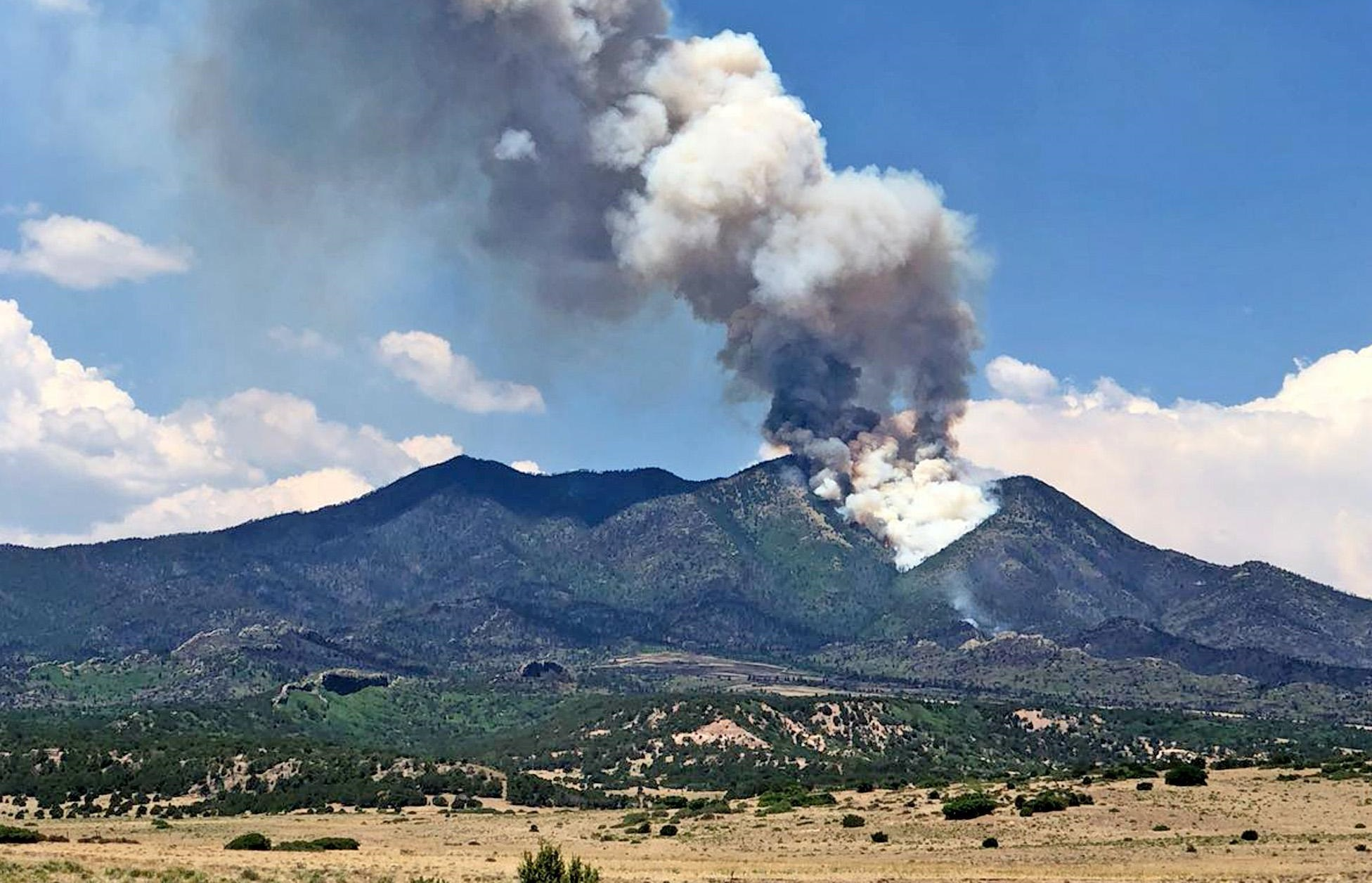 Photo: Spring Creek Fire July 8