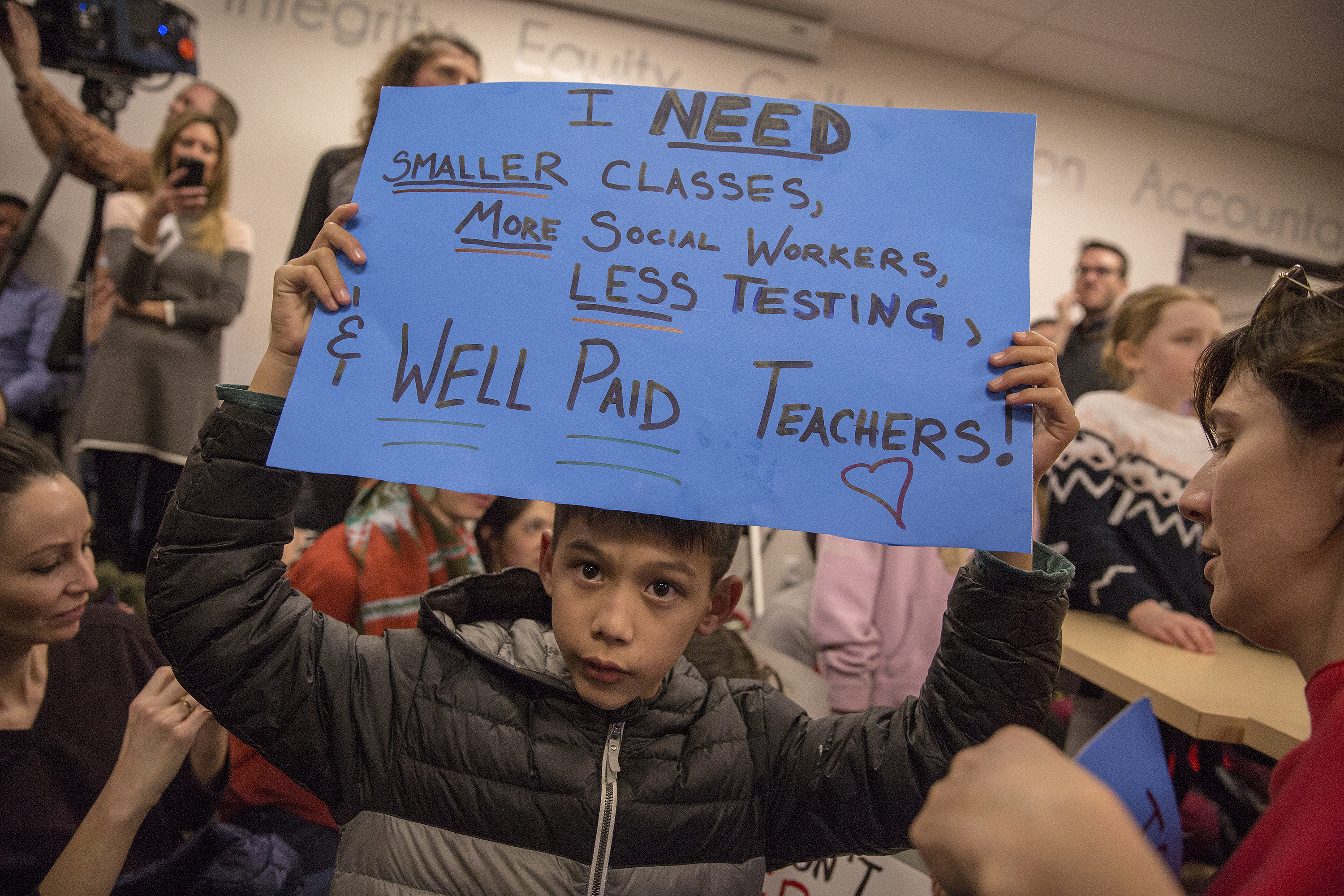 Photo: Teacher Contract Negotiations Resume 3 HV 20190131