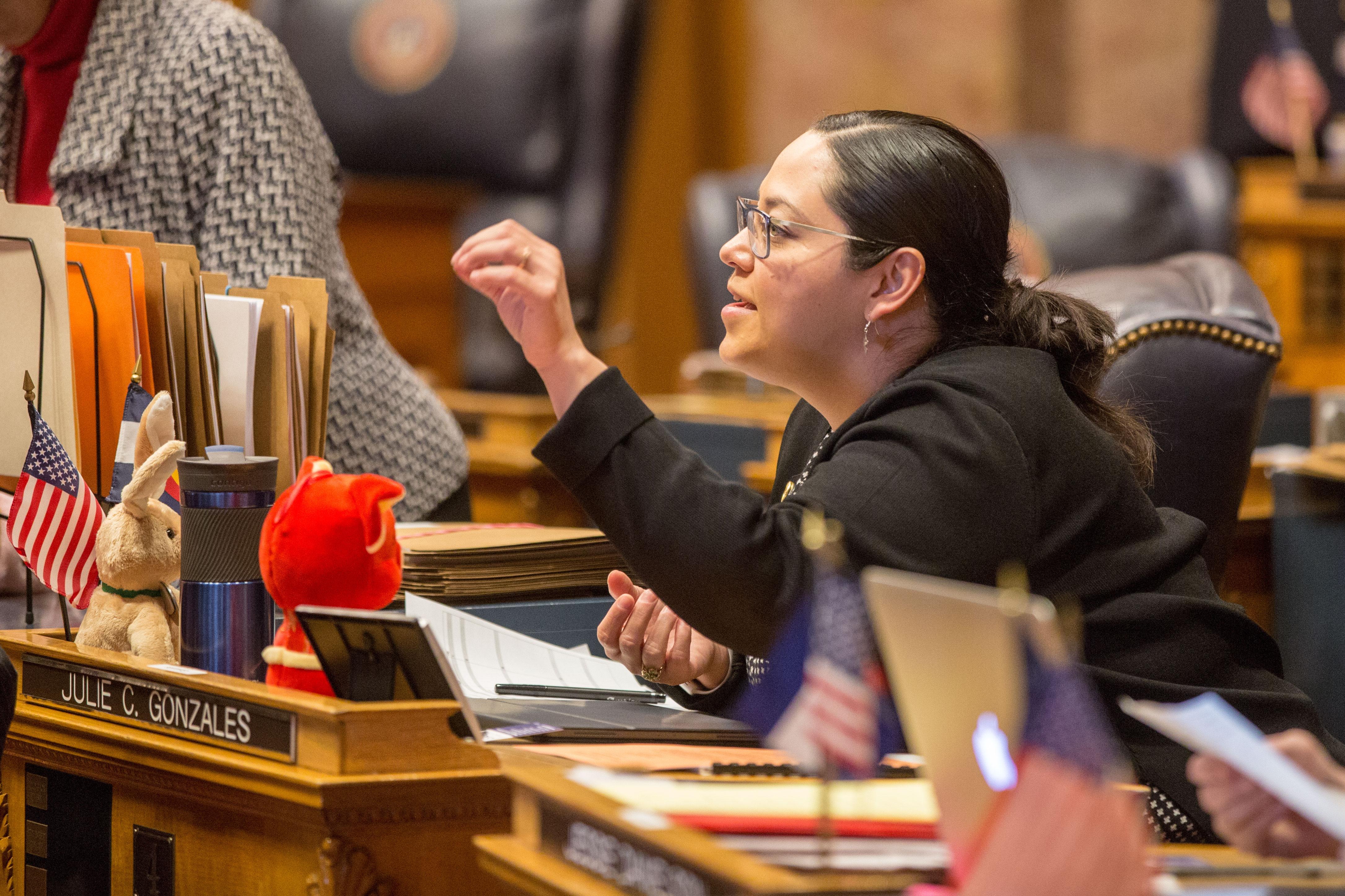 Photo: State Sen. Julie Gonzales 2 HV 20190206