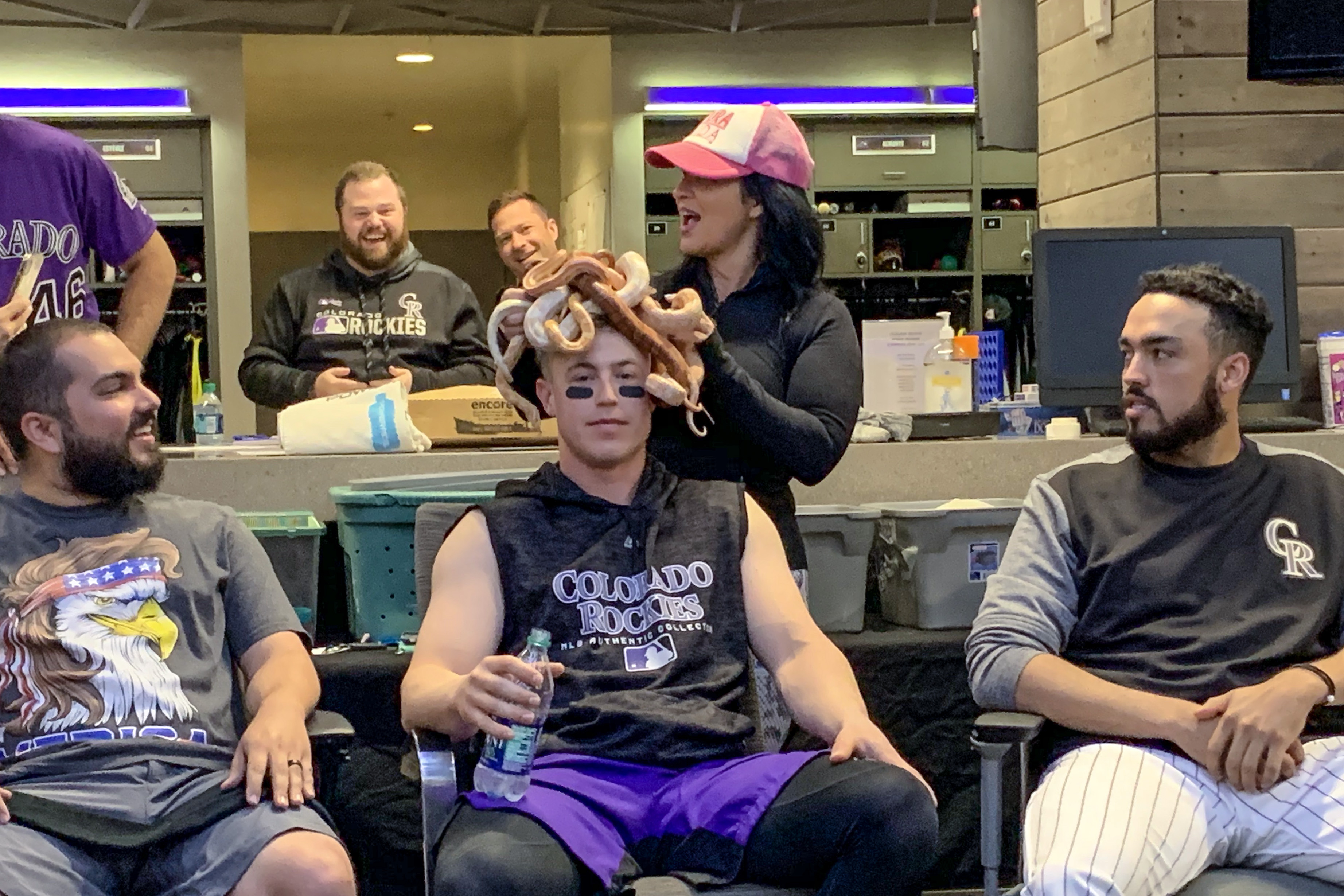 Photo: Rockies 2019 Spring Training Shenanigans 1 | Serven And Snakes - Courtesy
