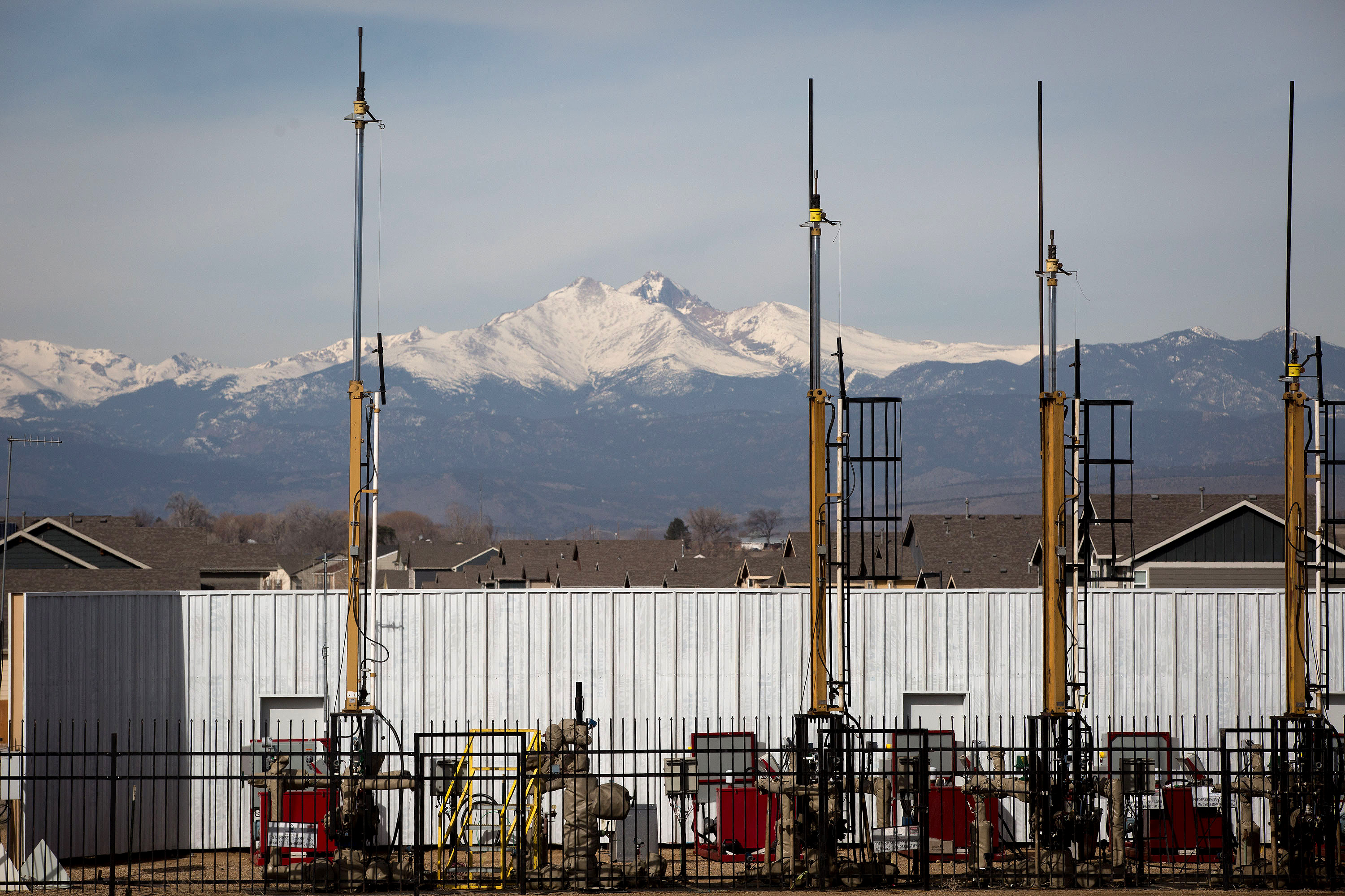 Photo: Oil And Gas Installation Near Homes Longmont HV