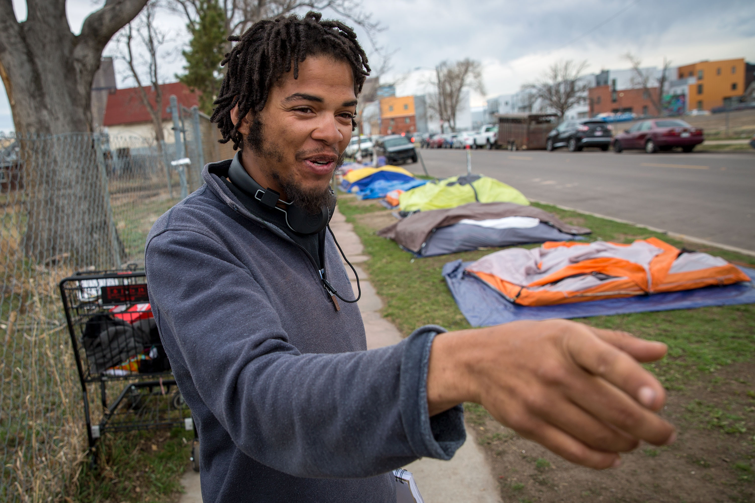 Photo: Denver Homeless Camp Arapahoe Zeno 2 20190327