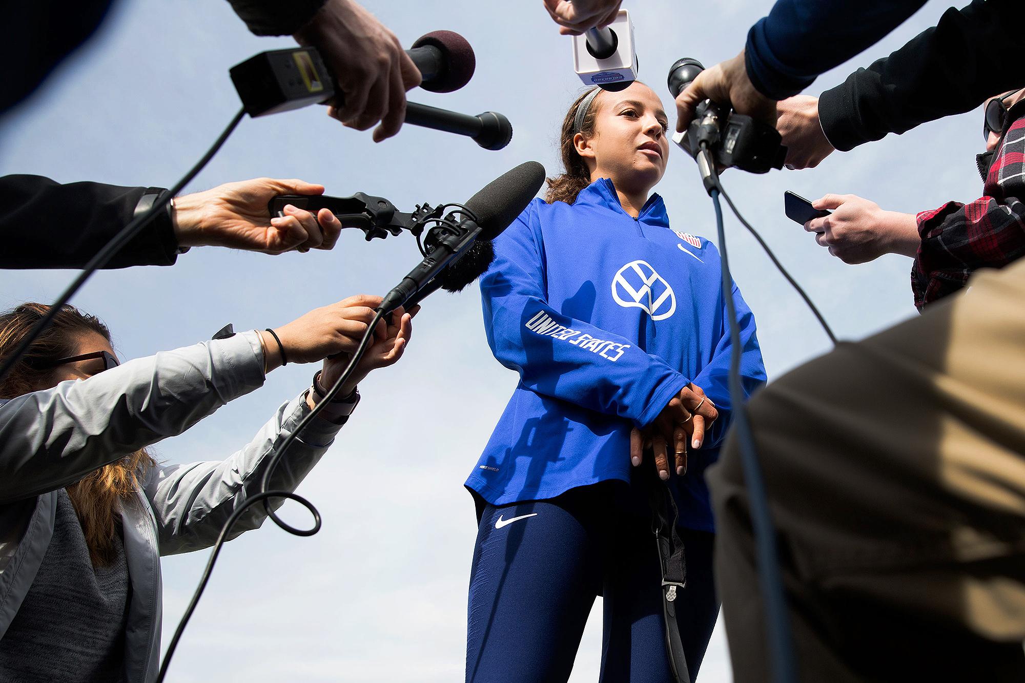 Photo: US Soccer Women Pugh 1 HV