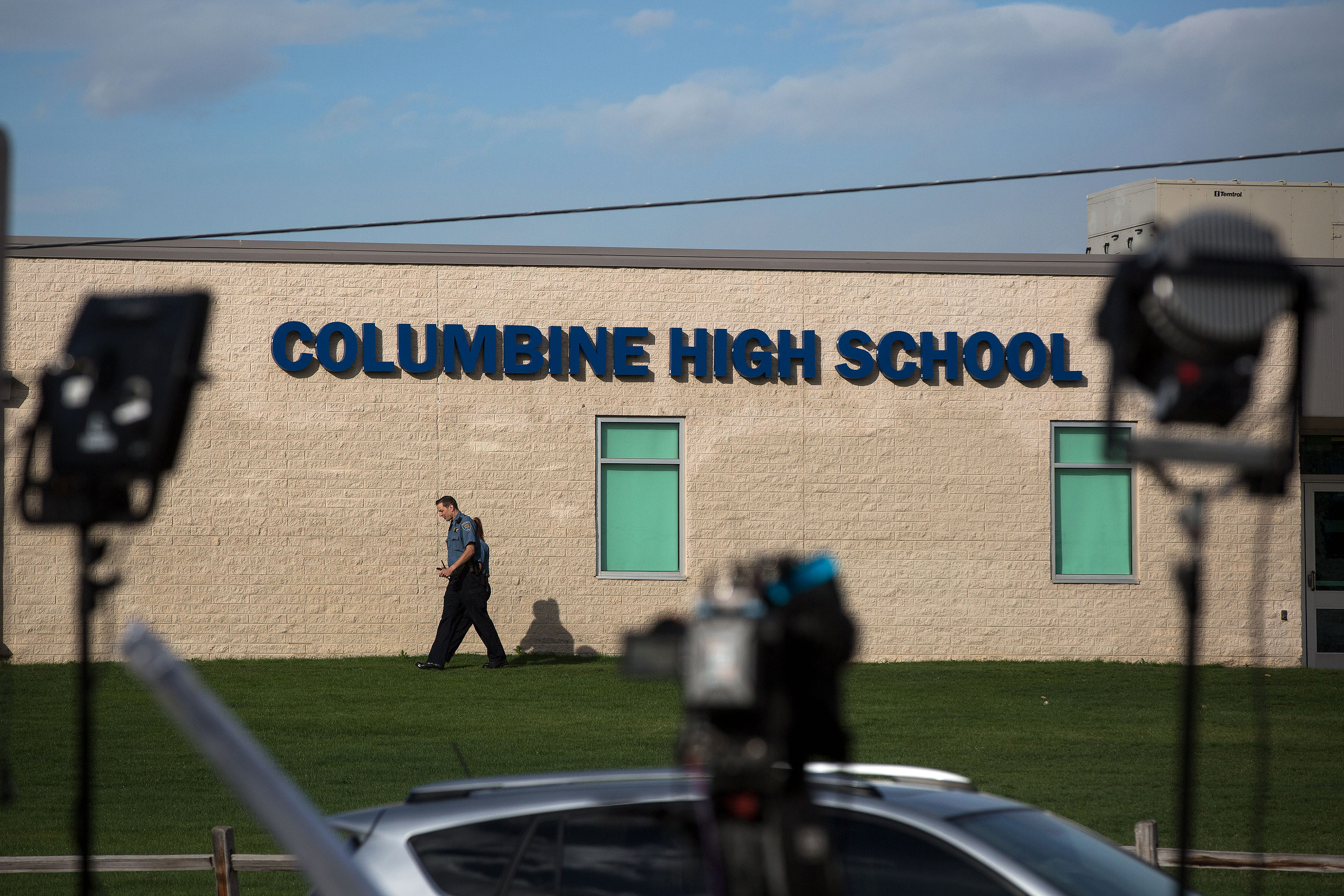 Photo: Columbine High School Building 1 HV 20190417 - DO NOT USE/REPEAT