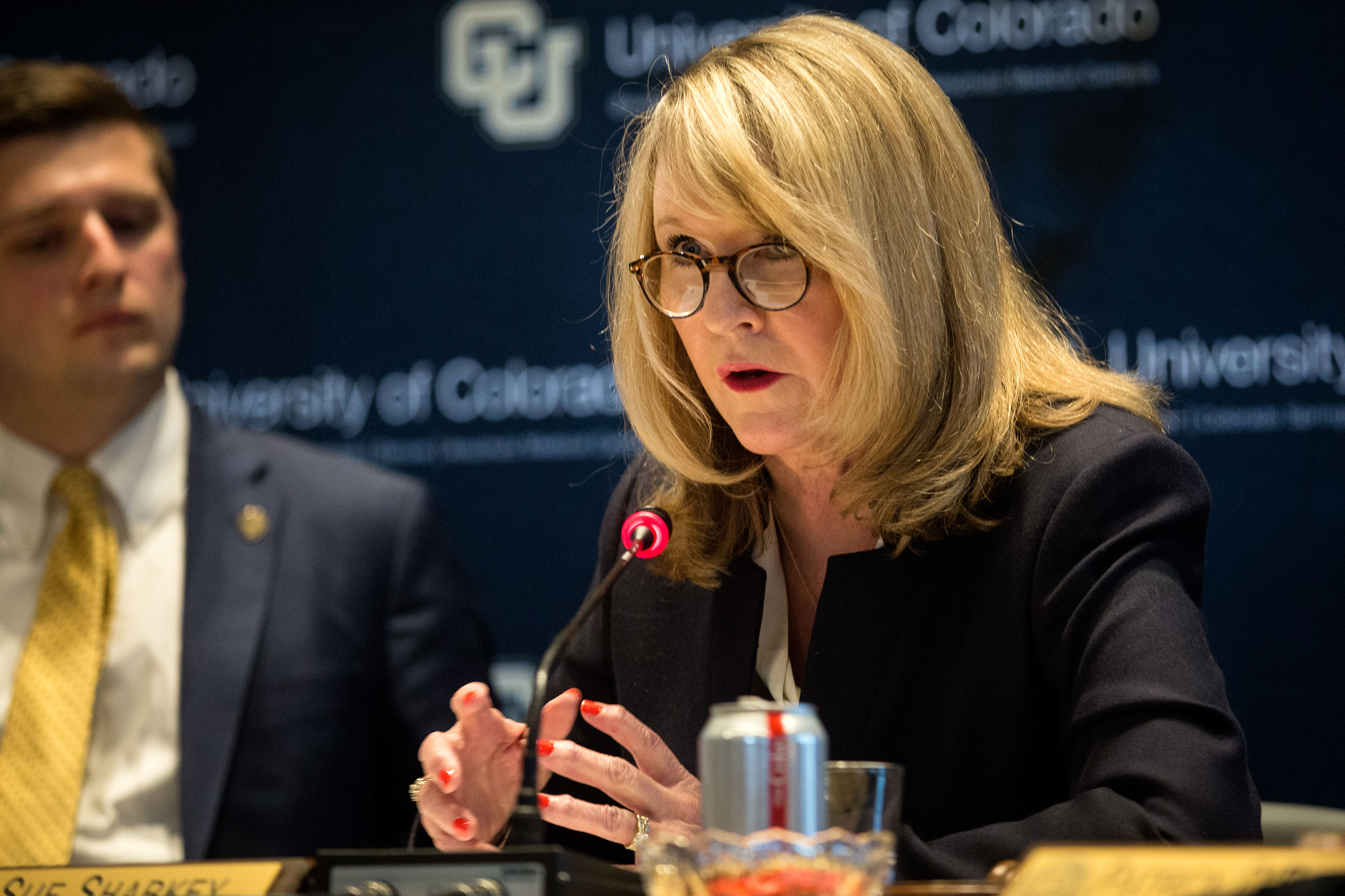 Photo: CU Regent Chair Sue Sharkey HV 05022019
