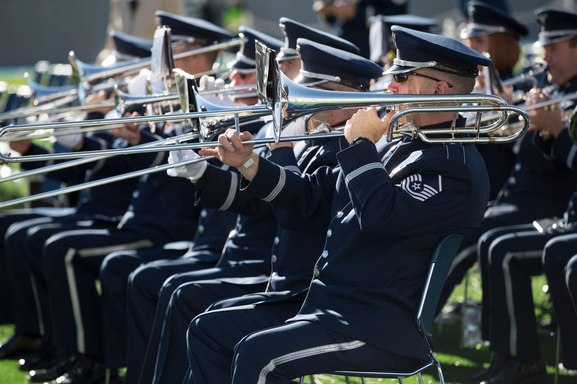 Photo: Air Force Academy graduation 2019 band