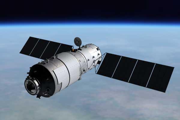 Photo: Tiangong-1 Orbit