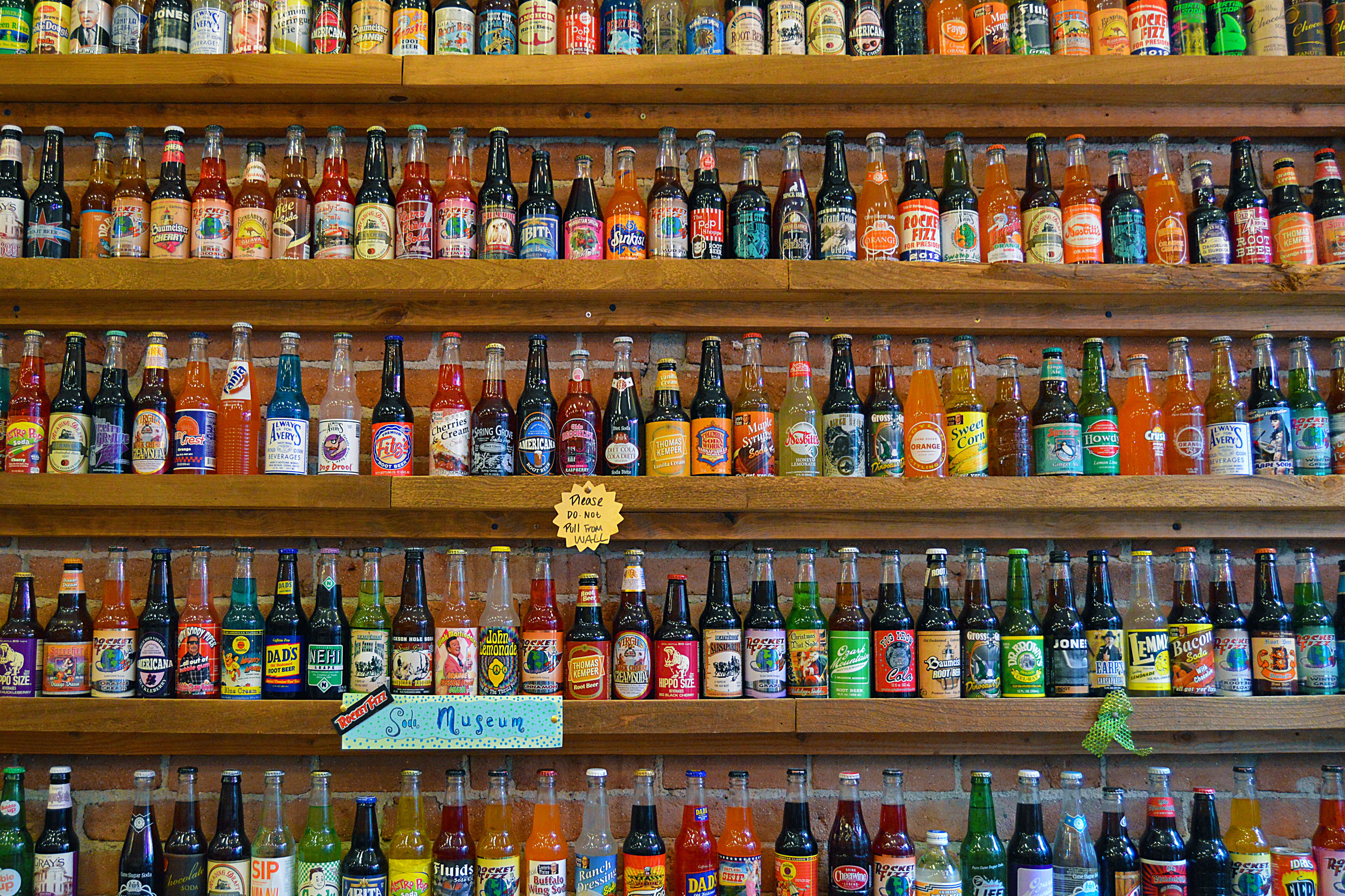 Photo: Soda Wall At Rocket Fizz, Pearl Street Boulder | Flickr-CC
