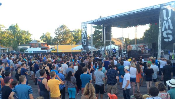 Photo: UMS 2015 Crowd and stage