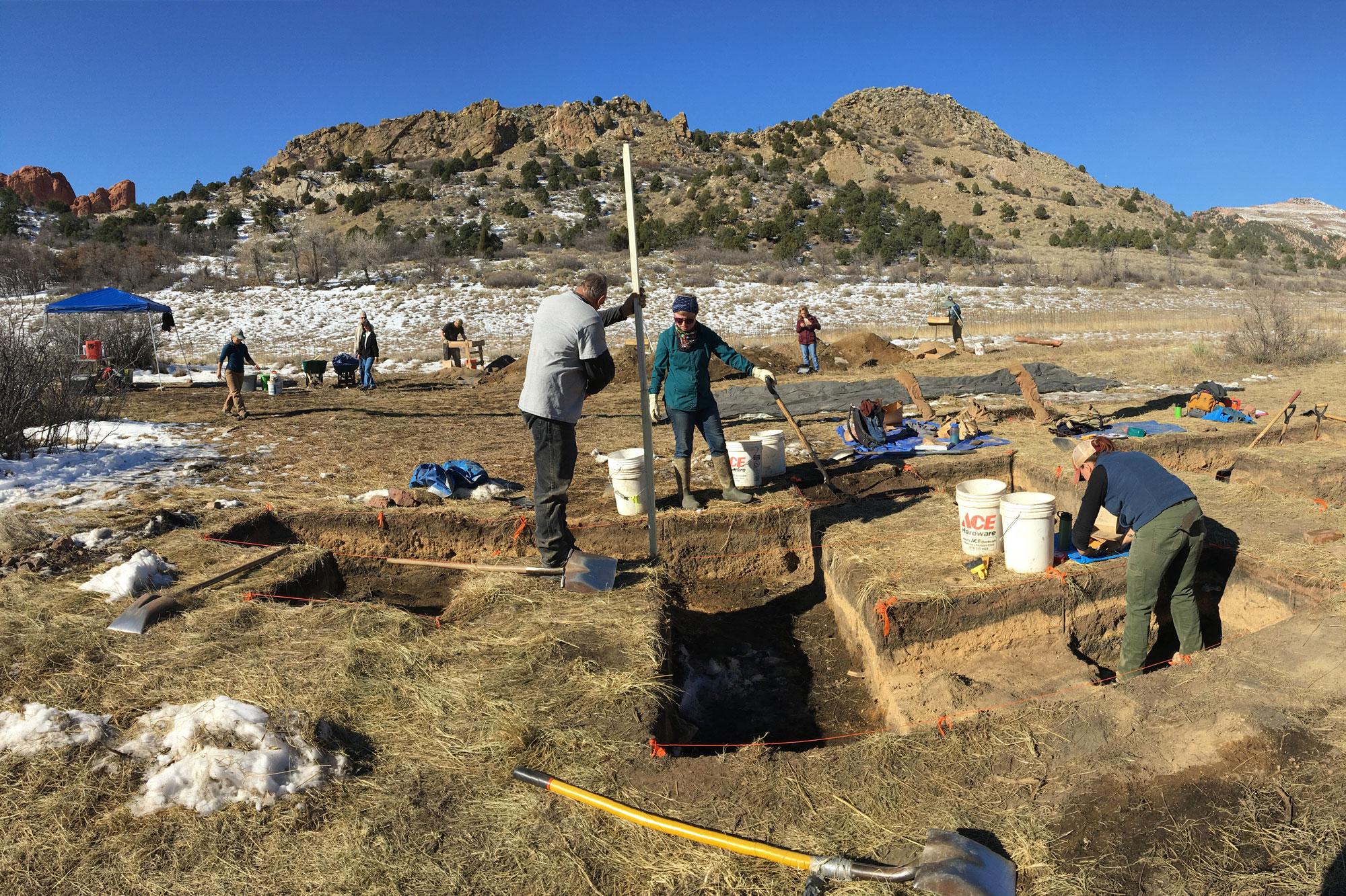 Photo: Colorado Springs General William Jackson Palmer Dig