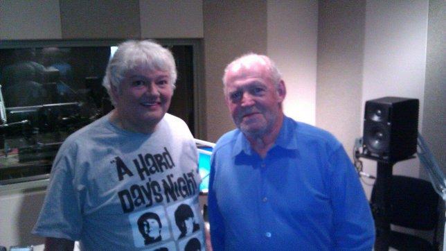 Photo: Mike Flanagan with Joe Cocker