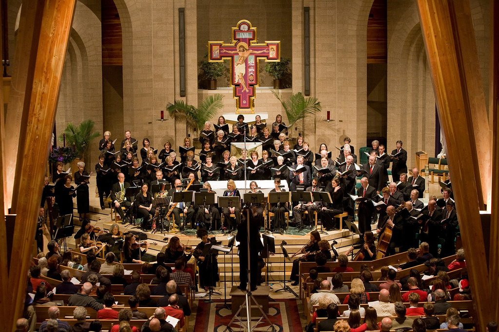 Photo: Canto Deo in concert