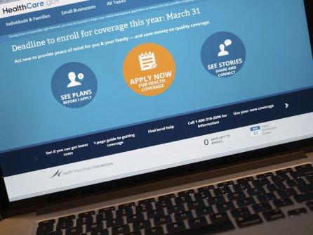 Healthcare.gov AP Photo