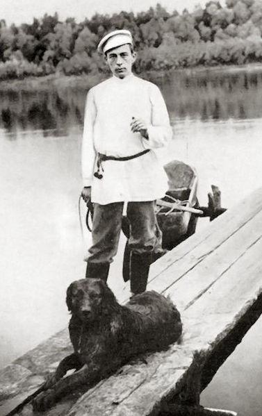Photo: Sergei Rachmaninoff in 1988 VERTICAL