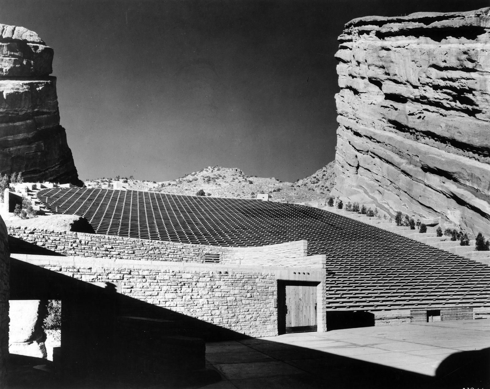 Photo: Historic Red Rocks Ampitheater