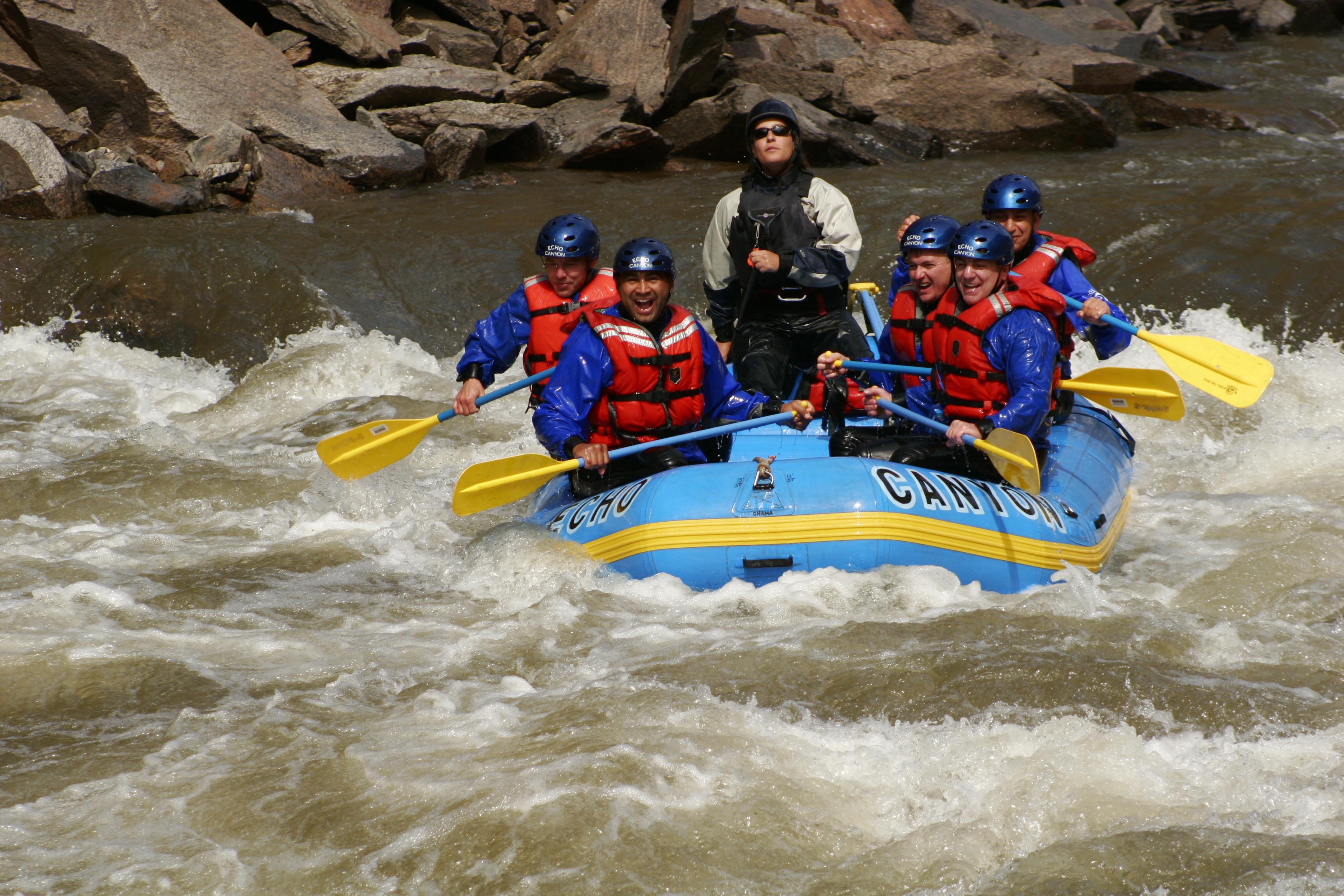 Photo: Rafting Arkansas River Royal Gorge