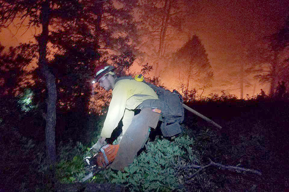 Photo: 416 Fire June 12 | Night Firefighter