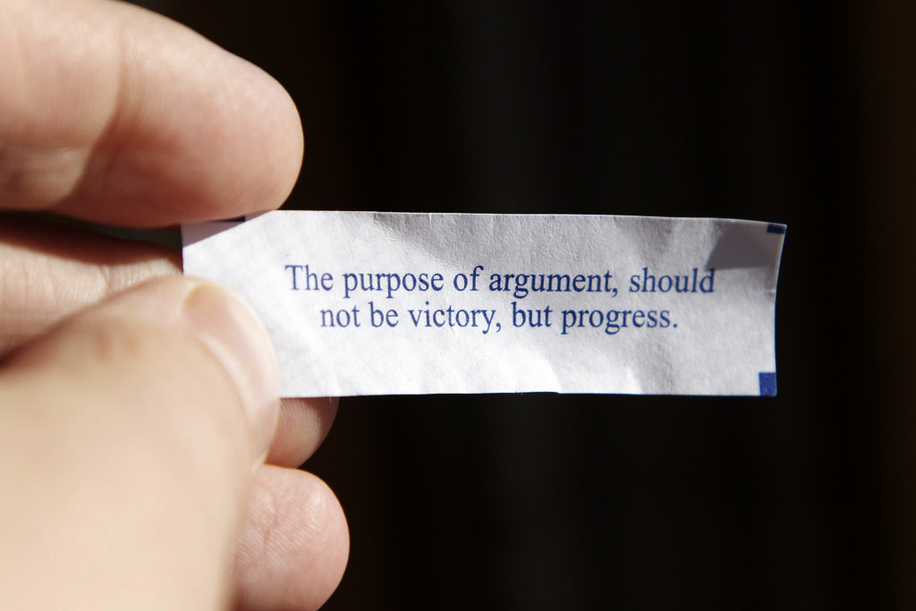 Photo: Fortune Cookie Argument (Flickr/CC)