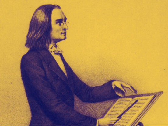 Photo: Franz Liszt horizontal