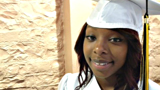 Photo: Dajina Bell graduation