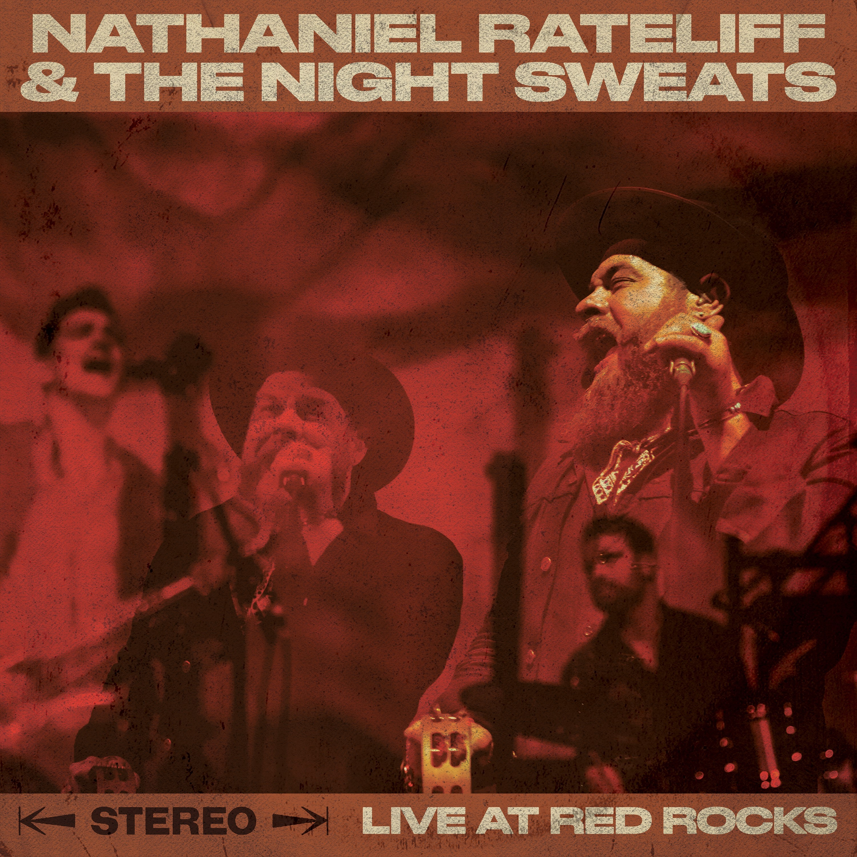Photo: Nathaniel Rateliff Live At Red Rocks album cover