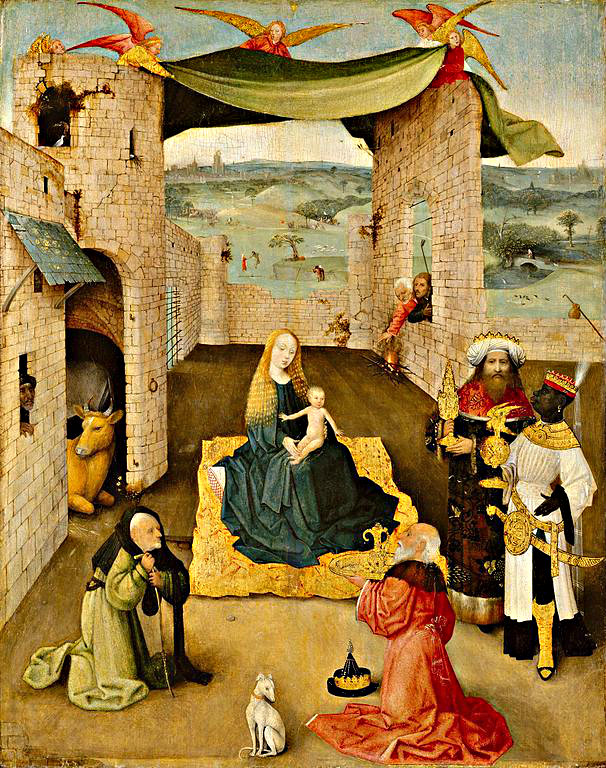 Bosch Adoration of the Magi Amahl inspiration