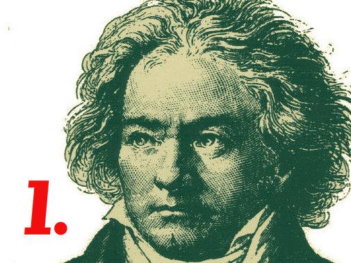 Photo: Beethoven Symphony 1 slide