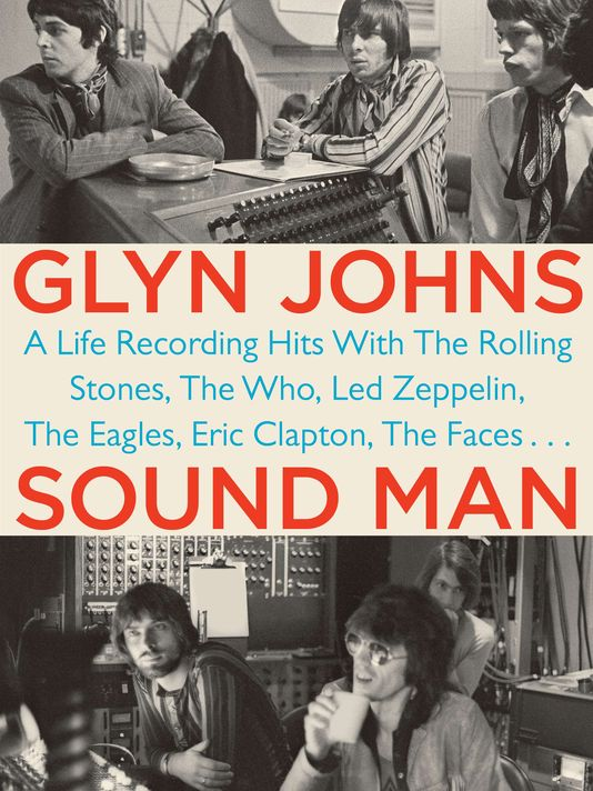 Photo: Glyn Johns 'Sound Man' book cover