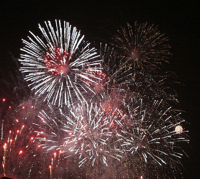 Photo: New Year's Eve fireworks