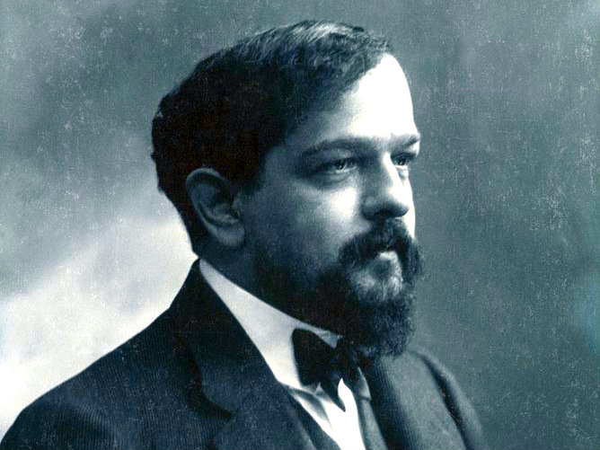 Photo: Claude Debussy, composer