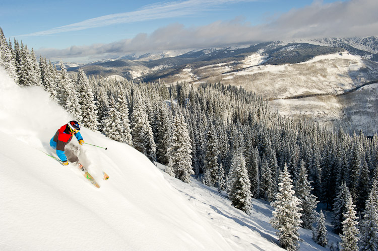 Photo: Skier at Vail (Flickr/CC)