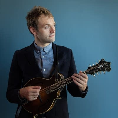 Photo: Chris Thile, A Prairie Home Companion full image