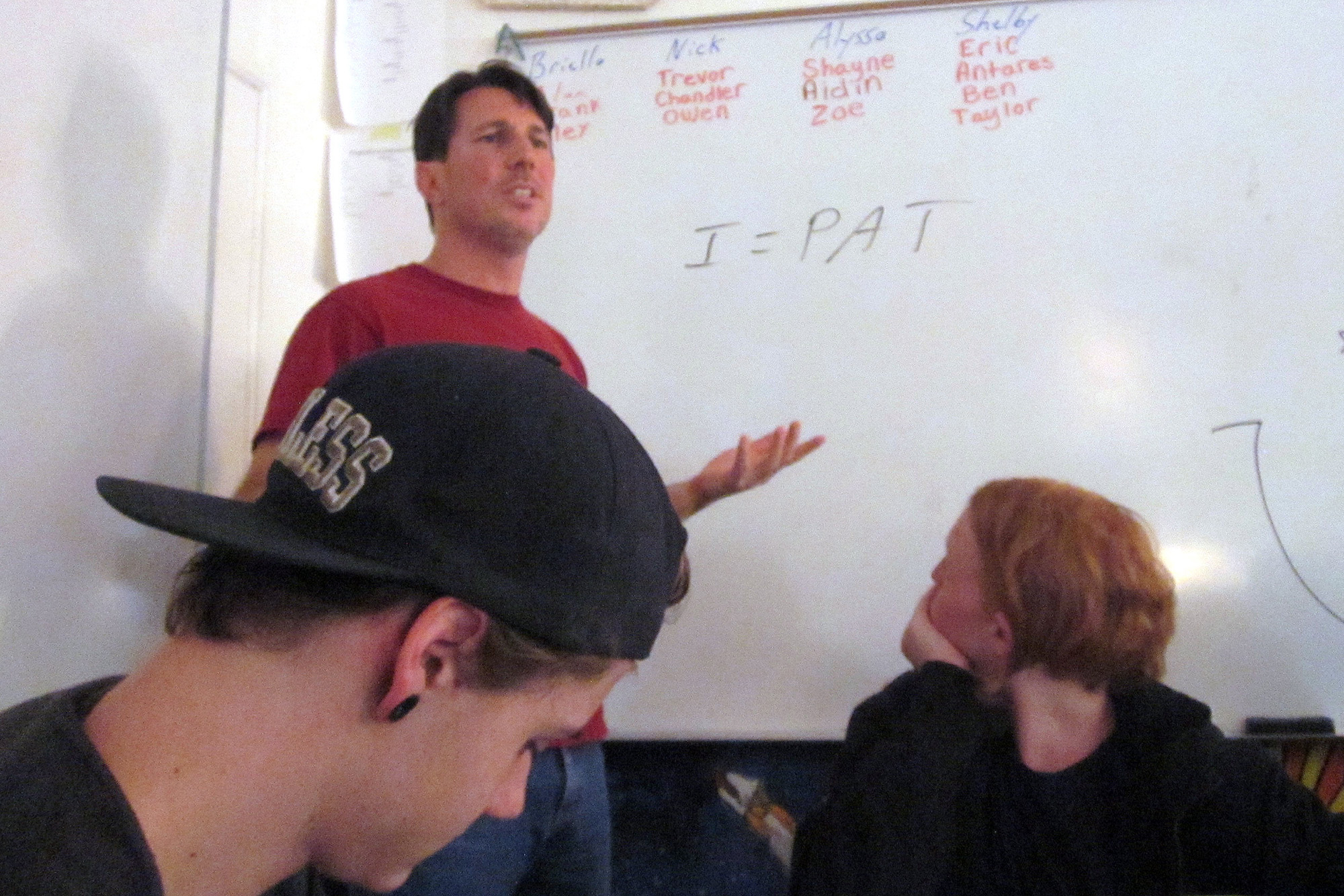Photo: Teaching 6th Extinction 4