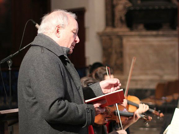 Photo: Christopher Hogwood, conductor