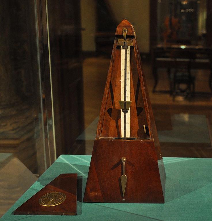 Photo: Maelzel metronome