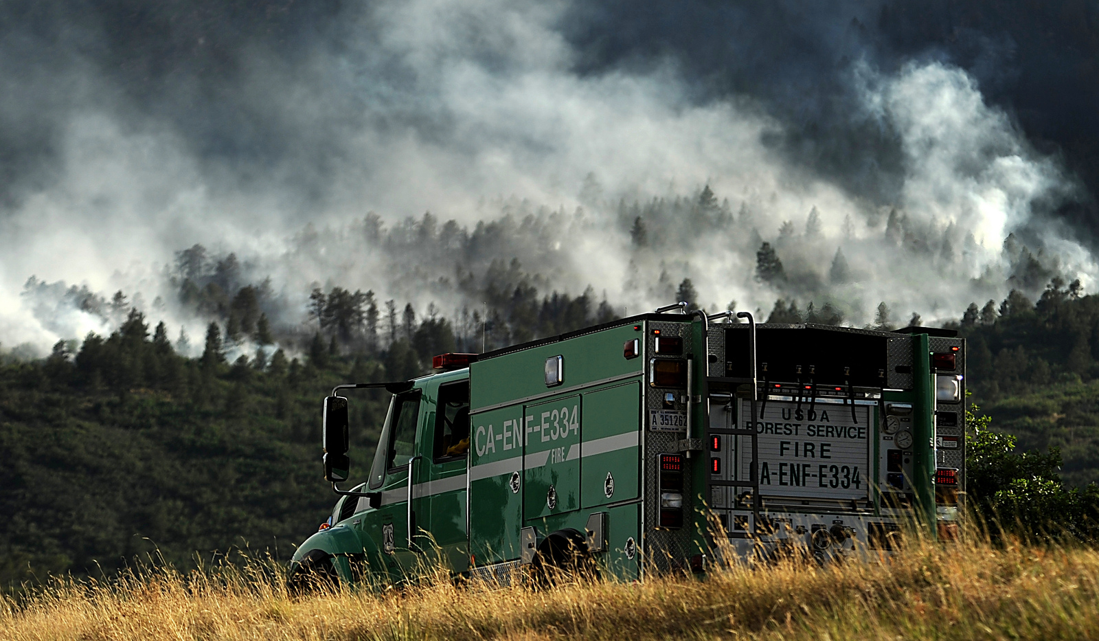 Photo: Wildfire, Waldo Canyon, Forest Service, Truck (Flickr/CC)